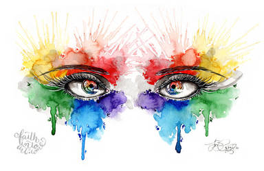 Eyes of Color by Gezusfreek