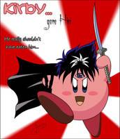 Kirby... err.. Hiei? by Gezusfreek