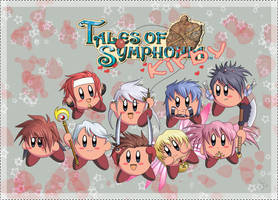 Tales of Symphonia... Kirby by Gezusfreek