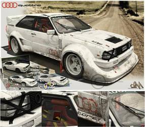 Audi Quattro by hussain1