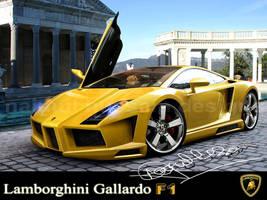 Lambourgini Gallardo F1 by hussain1