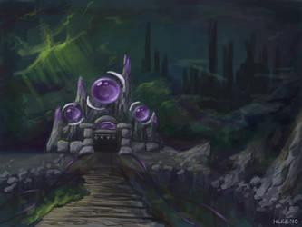 Lair of the Arcanist by llifi-kei