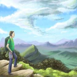 Rock climbing by llifi-kei