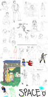 Sketchdump- 01 by MsJillyJelly