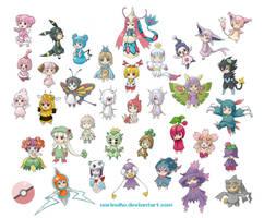 Chibiko Pokemon 34 by norinoko