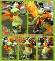 Paper Clay Fairy-thing by norinoko