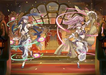 Fire Emblem Heroes Performing Arts (Awakening) by norinoko