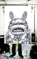 bunny bunch by astronautboys