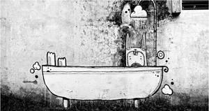 bath time by astronautboys