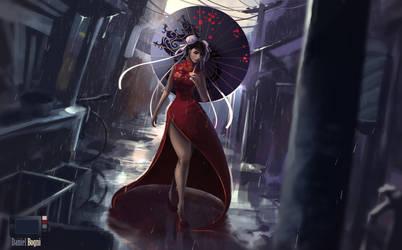 Chun Li - Street Fighter - Fanart by danielbogni