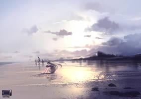 Speedpaint - Lonely by danielbogni