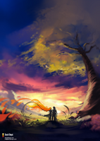 Speedpaint - Meet me there... by danielbogni
