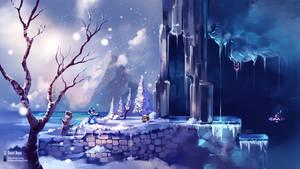 Megaman X - Chill Penguim Stage - Fanart by danielbogni