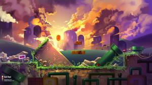 Super Mario World - Fanart by danielbogni