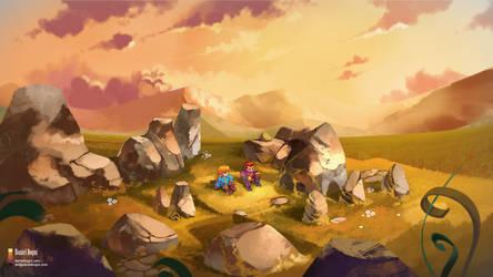 Final Fantasy Tactics - Blade of Grass - Fanart by danielbogni