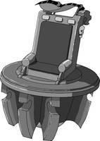 Lifter Throne grey scale by SteelToad
