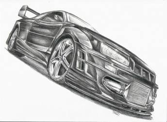 Nissan Skyline GT-R by Ragewalker