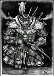 Modern Samurai by Ragewalker