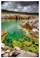 Green Rock by Andrejz