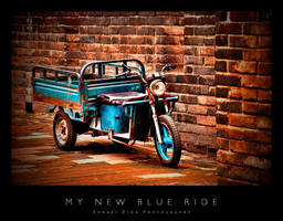 My New Blue Ride by Andrejz