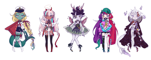 [CLOSED] Spiritus Oris Guest Adopts by Chaine-x
