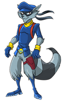 Sly Cooper (no cane) by GhostR3x1