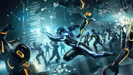 Tron-evolution by GhostR3x1