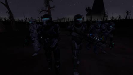 Survival Clones Dark Night by GhostR3x1
