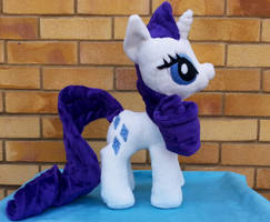Rarity Plush by Arualsti
