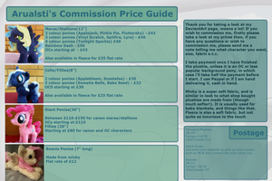 Commission Price Guide by Arualsti