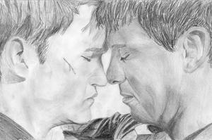 Ianto and Jack by Arualsti