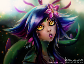 Neeko The Curious Chameleon by Hinata1495