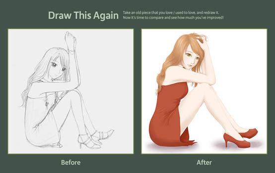 Drawn again by vivelda