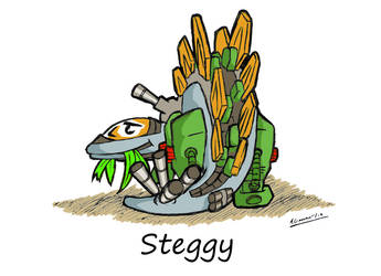 Steggy by Andrew-Genner
