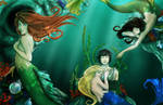 The Mermaid, tattereddreams by MissingHorcrux