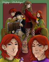 Gryffindor Commons, Daimida by MissingHorcrux