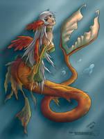 Mermaid, Daimida by MissingHorcrux