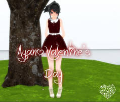 [MMD] Yandere Simulator - Ayano Valentine Day by LiliArt1