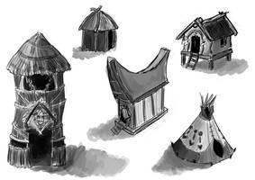 Buildings by xLilu