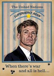 Jan Egeland Poster by xLilu