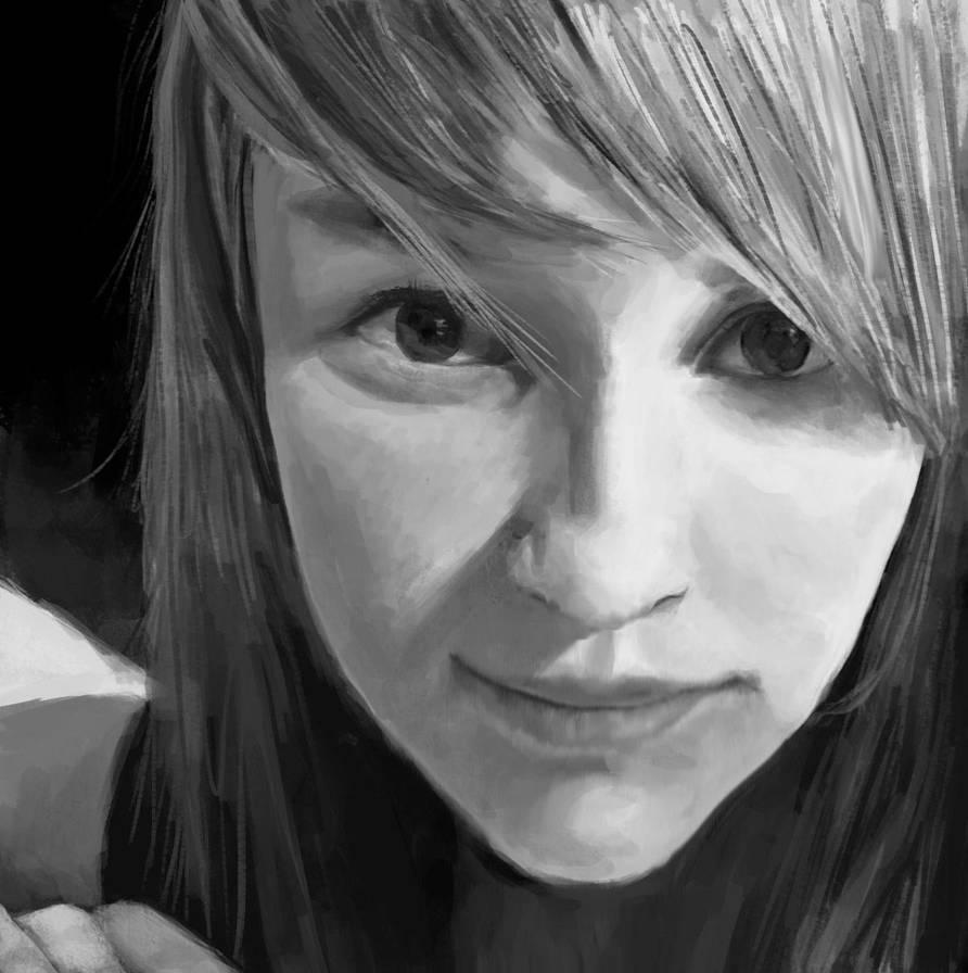 Self Portrait by xLilu