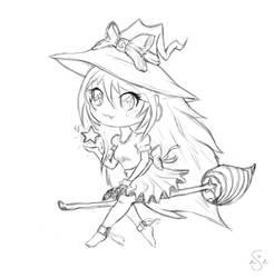 Chibi Witch by xLilu