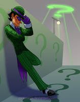 Riddlers insight by pink-ninja