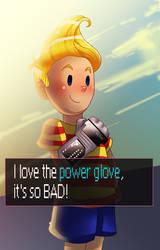 Mother 3 Lucas Power Glove by pink-ninja