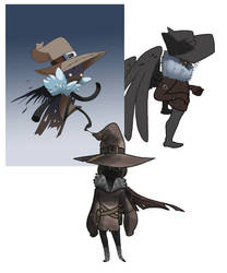 Scarecrows  by pink-ninja