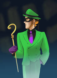 riddler zero year 2019 by pink-ninja