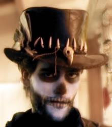 'Voodoo man' top hat 02 by Tobias-lockhart