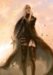 Claymore Irene by gooloo0-o