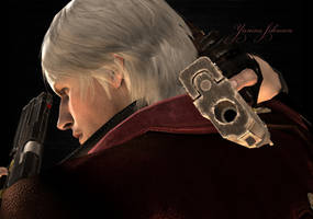 Dante - Son of Sparda by YaninaJohnson