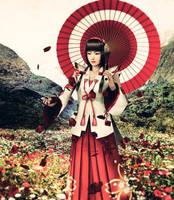 Samurai Warriors - Okuni by YaninaJohnson